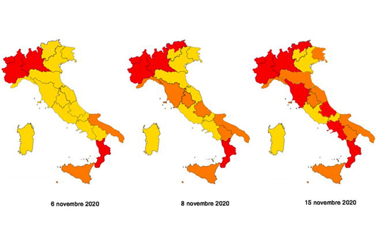 Regioni gialle, arancioni e rosse: negozi e attività aperte